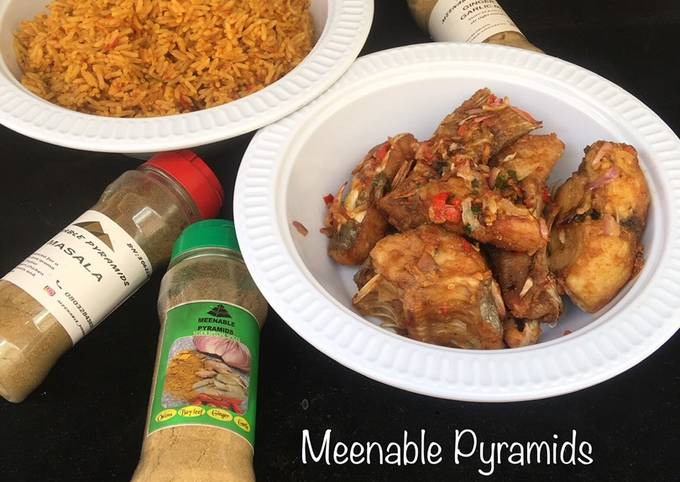 Recipe of Gordon Ramsay Party Jollof Rice with hot and spicy fish🤤🤤🤤 #kano