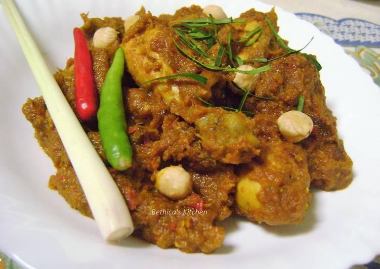 Chicken Rendang - Malaysian Style