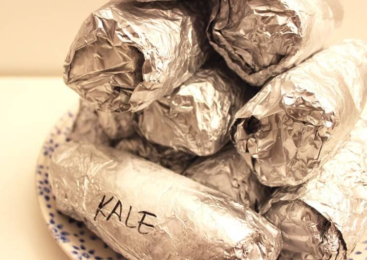 How to Prepare Quick Emergency Frozen Burritos(EFBs)