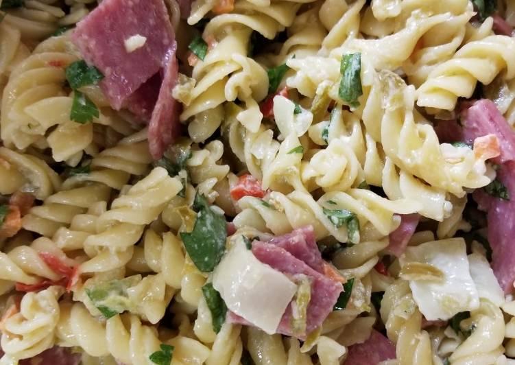 Recipe of Award-winning Italian Deli Pasta Salad