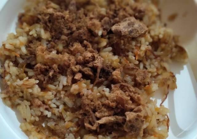 Nasi goreng simple buat anak sayang Brylian ❤️