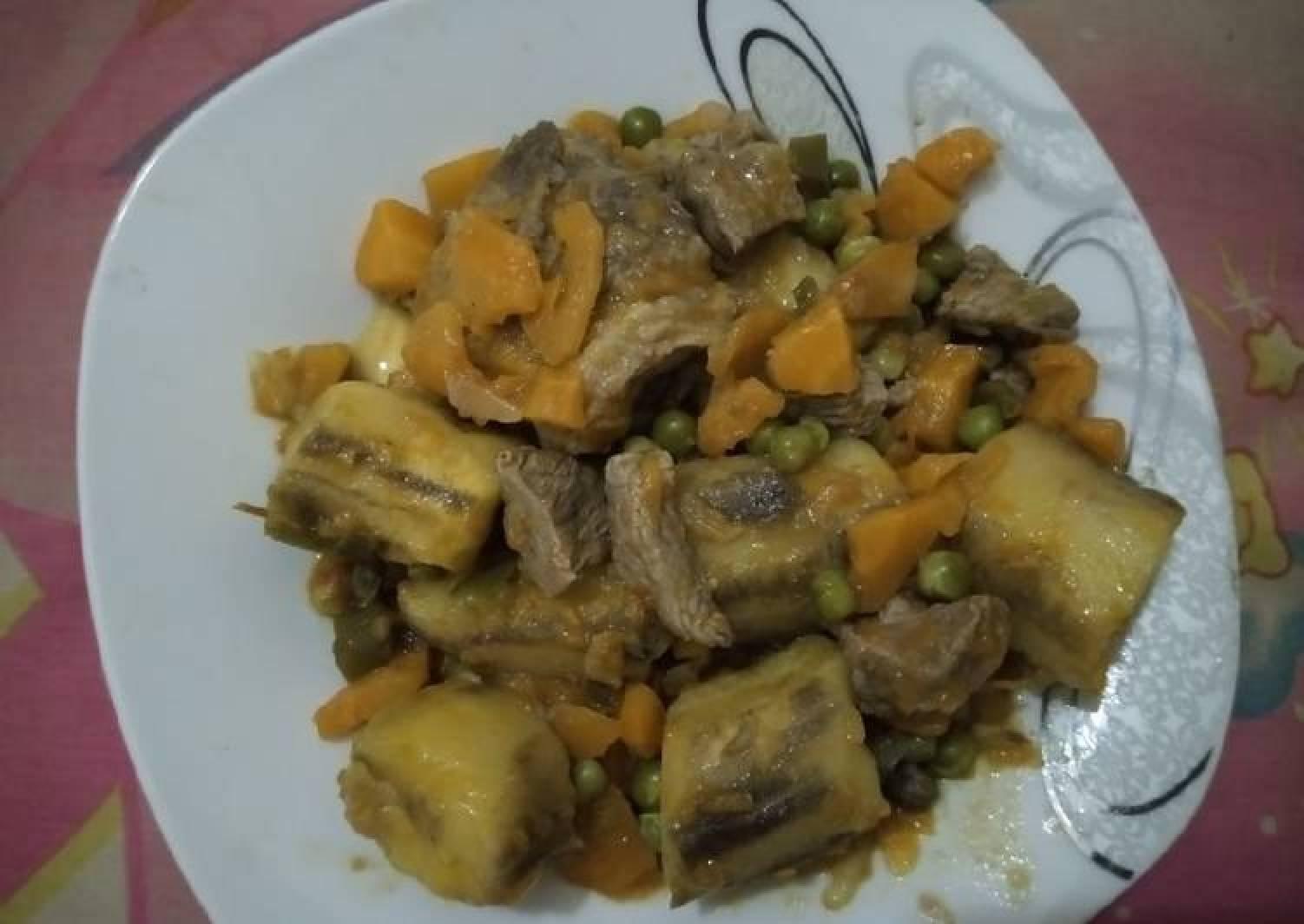 Beef Matoke