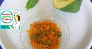 Spicy Raw Papaya Sambharo