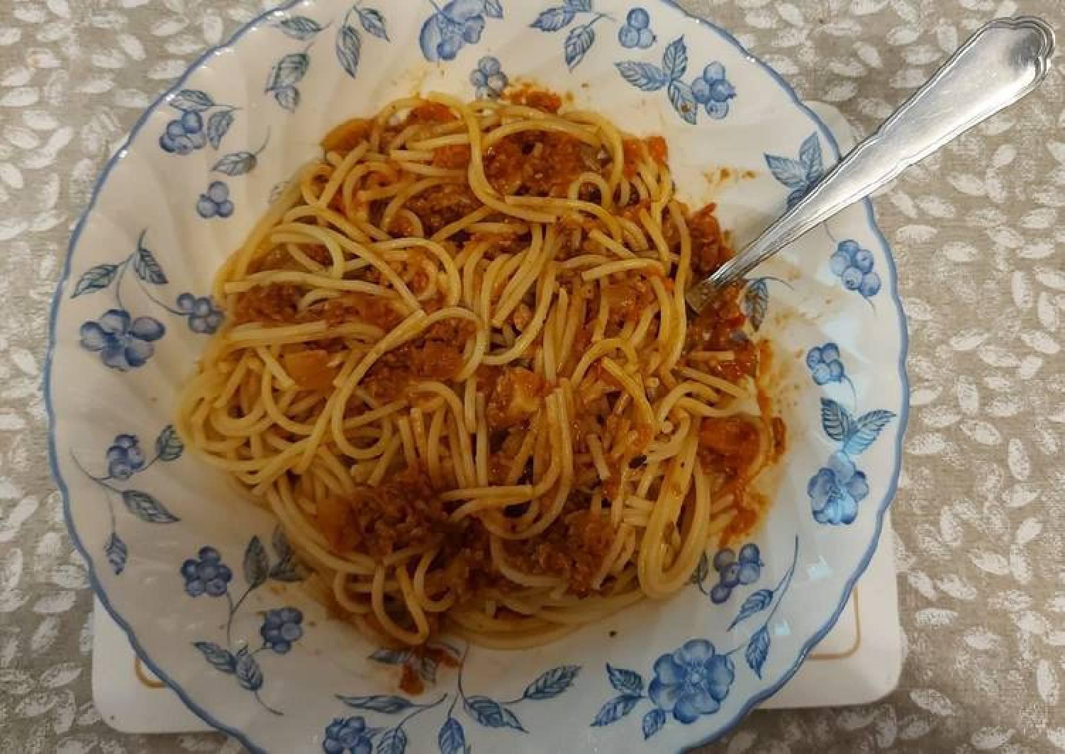 Jack's Vegan Spaghetti Bolognese