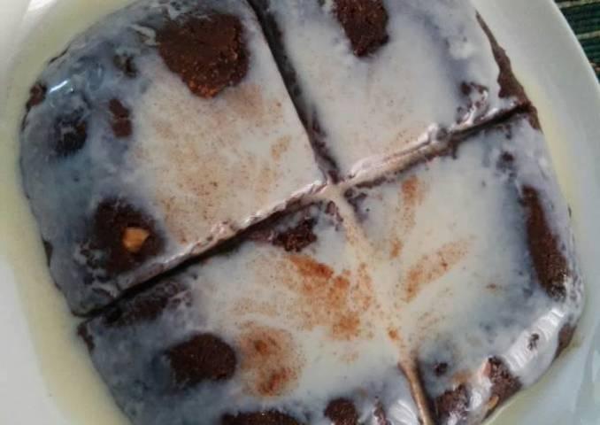 Minis brownies chocolatoso de quinoa
