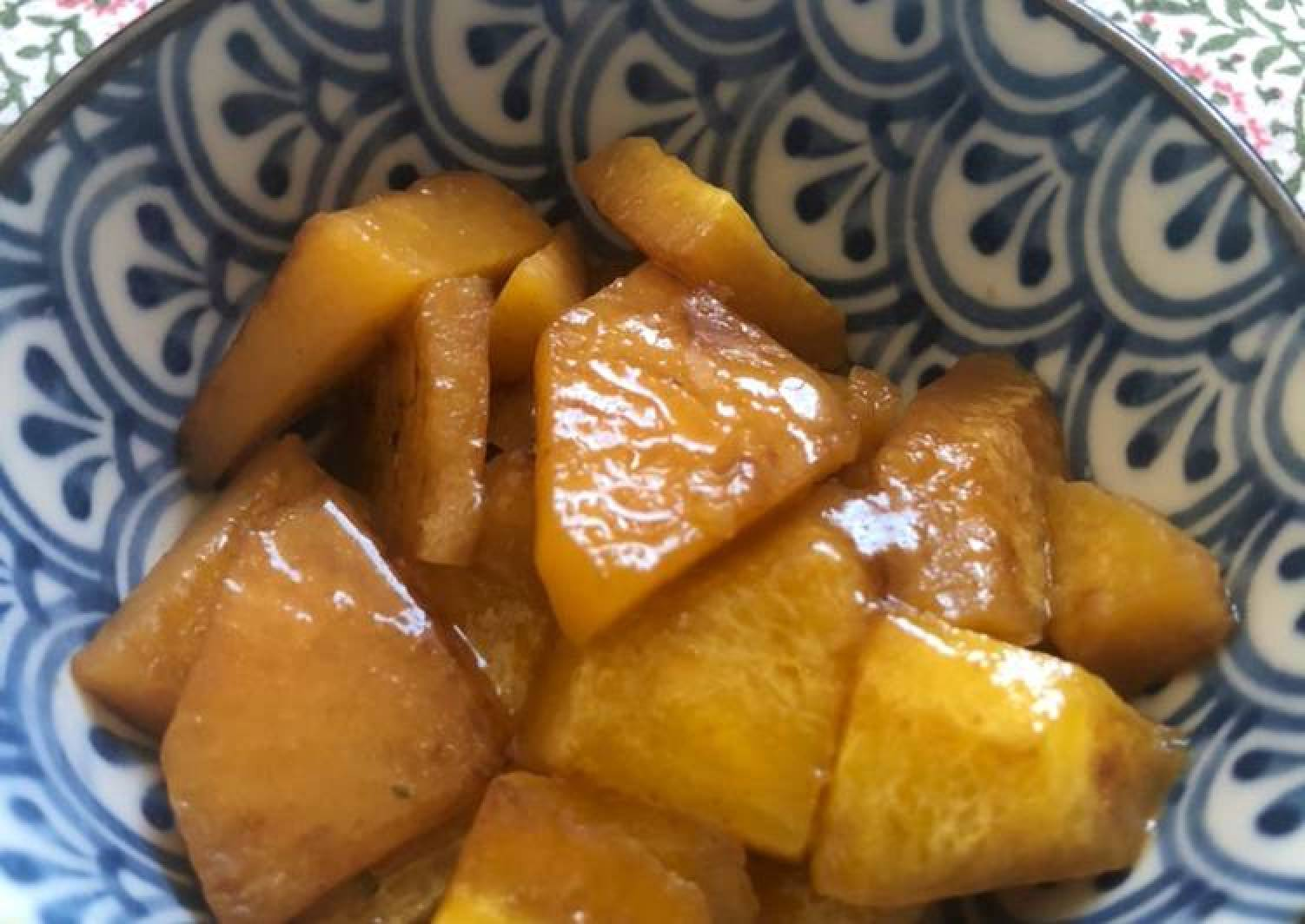Braised swede - can be vegan