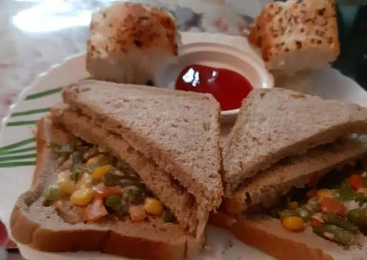 Diet Russian Sandwich