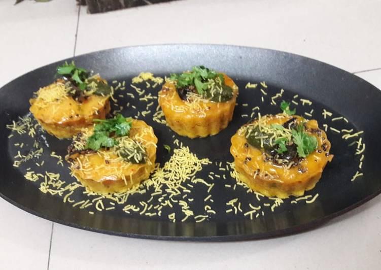 Simple Way to Make Ultimate Dhokla cupcake
