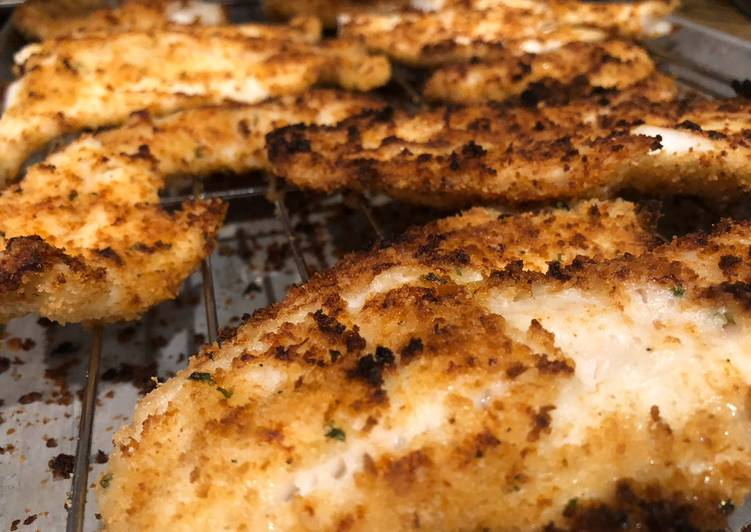 Ivo Coia's Baked Walleye