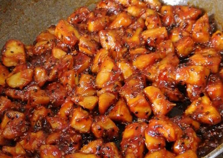 Sweet and Spicy Chicken Breast