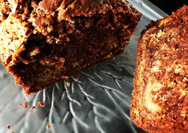 Gâteau marbré vanille/choco