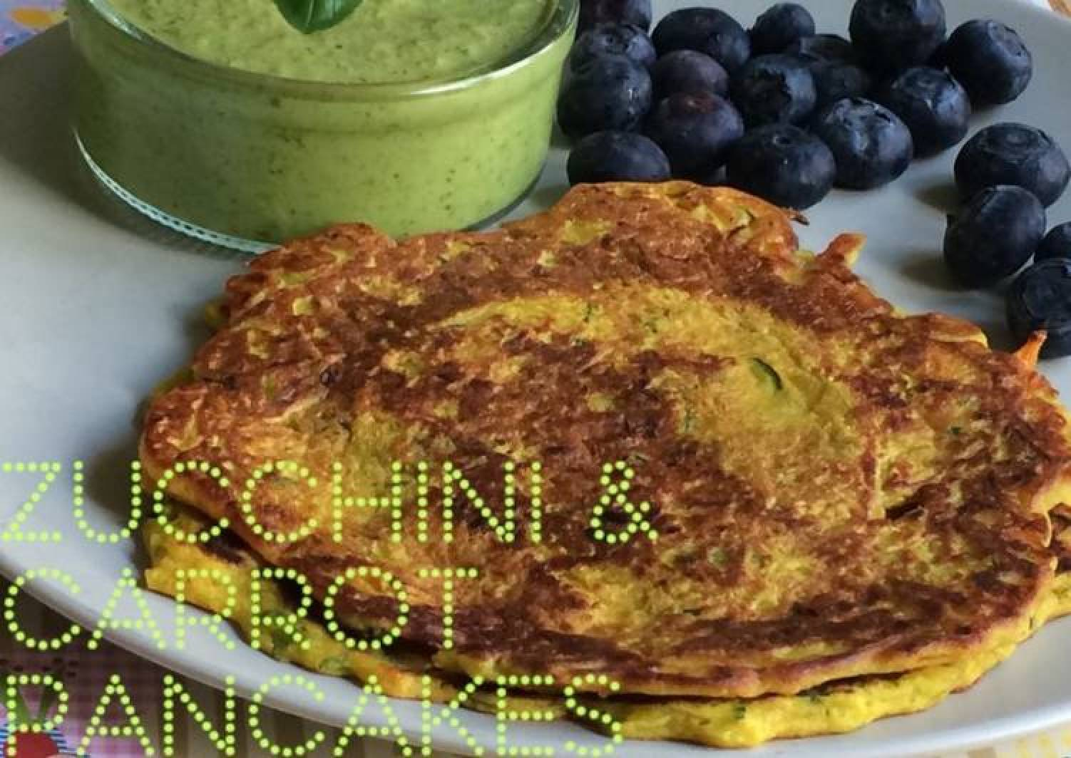 Zucchini and Carrot Pancakes