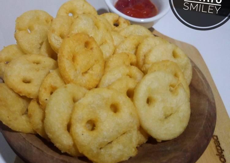 Cheesy Potato Smiley