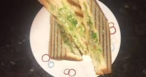 Ghughra Sandwich-Sandwich with Capsicum and onion-no potato sandwich