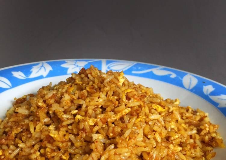 Nasi goreng mudah ala abang-abang