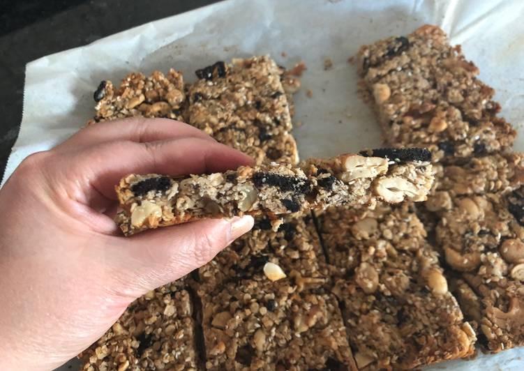 Oatmeal's granola bars