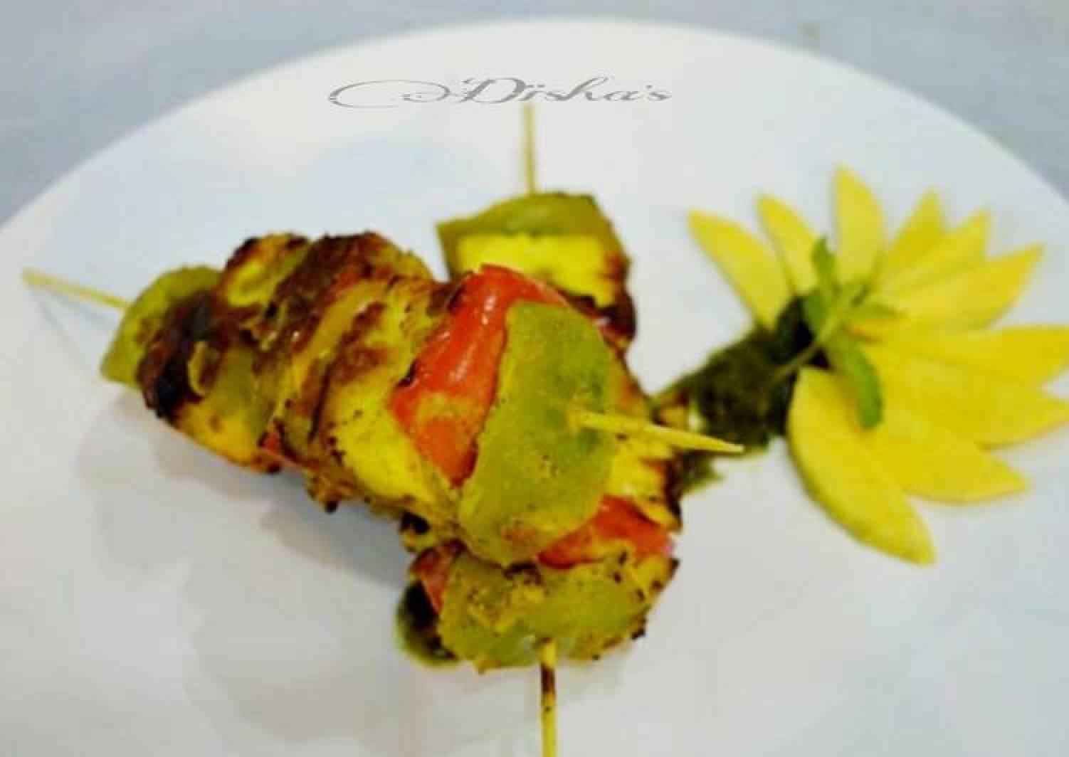 Paneer-Avocado Tikka
