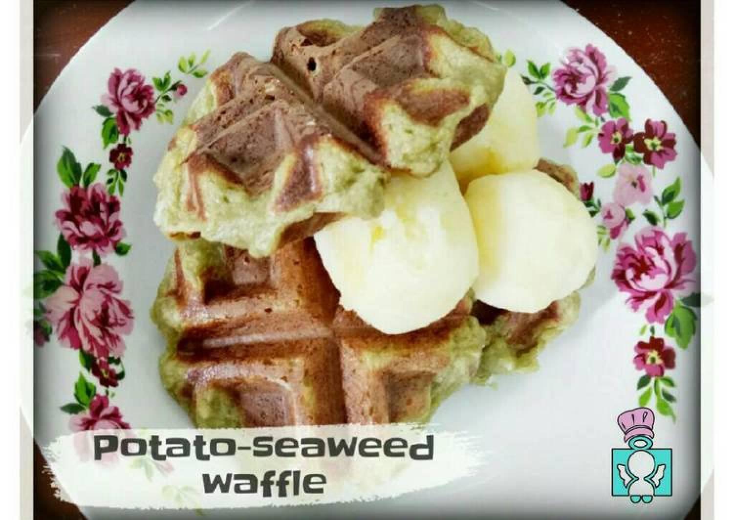 Potato-Seaweed Waffles
