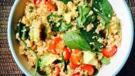Permalink to Easiest Way to Prepare Yummy Quinoa, Avocado, Spinach Salad