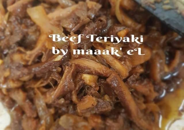 Beef Teriyaki ala Yoshinoya