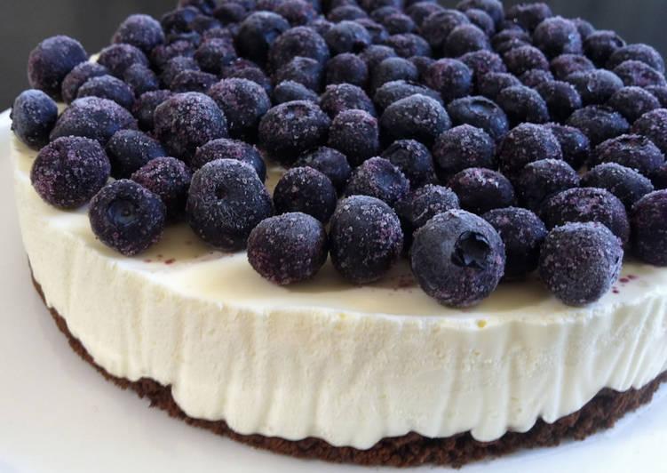 No-Bake Yoghurt Cheesecake