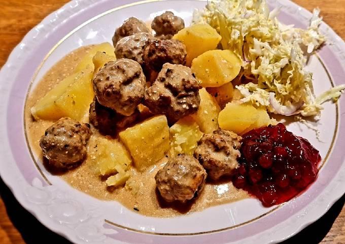 Der einfache Weg Um Ultimative Köttbullar Ikealike zuzubereiten