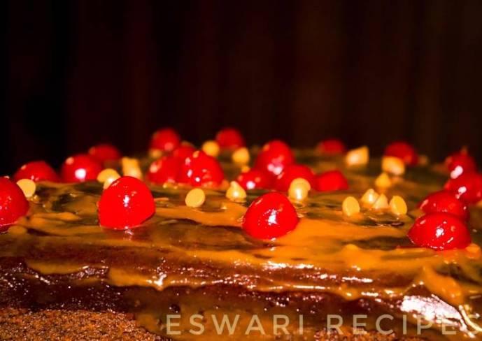 Easy Eggless whole wheat chocolate cake