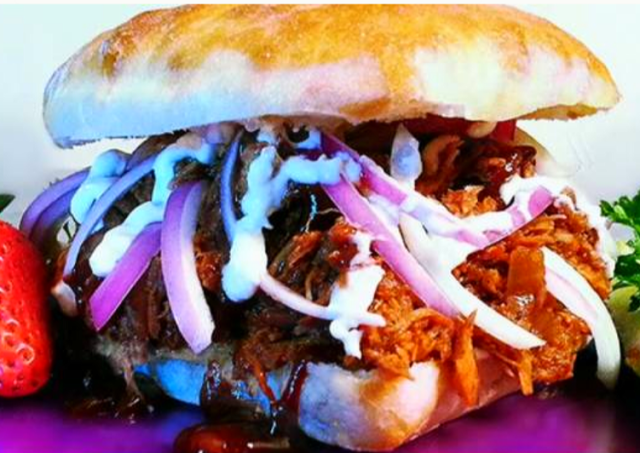 Mike's Spicy Pulled Pork BBQ Sandwiches