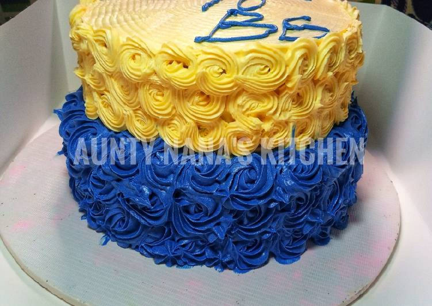 Butter icing