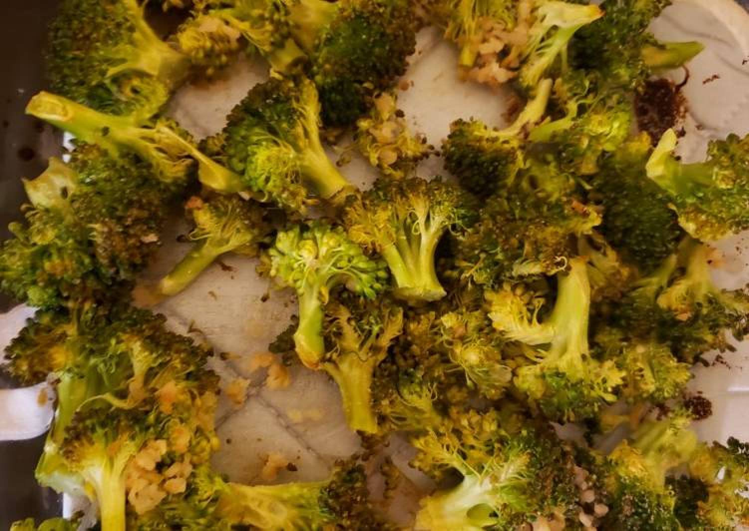 Garlic Lime Broccoli