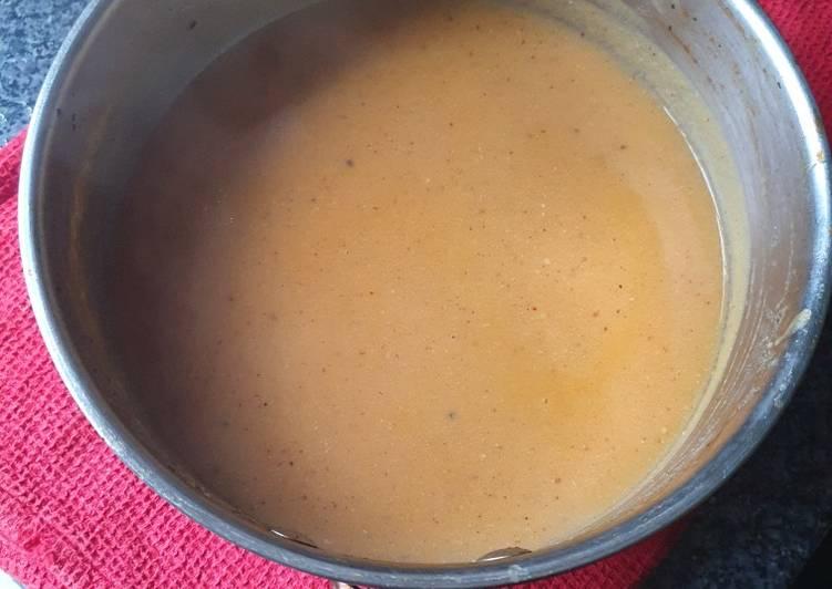 Carrot Potato Ham Soup