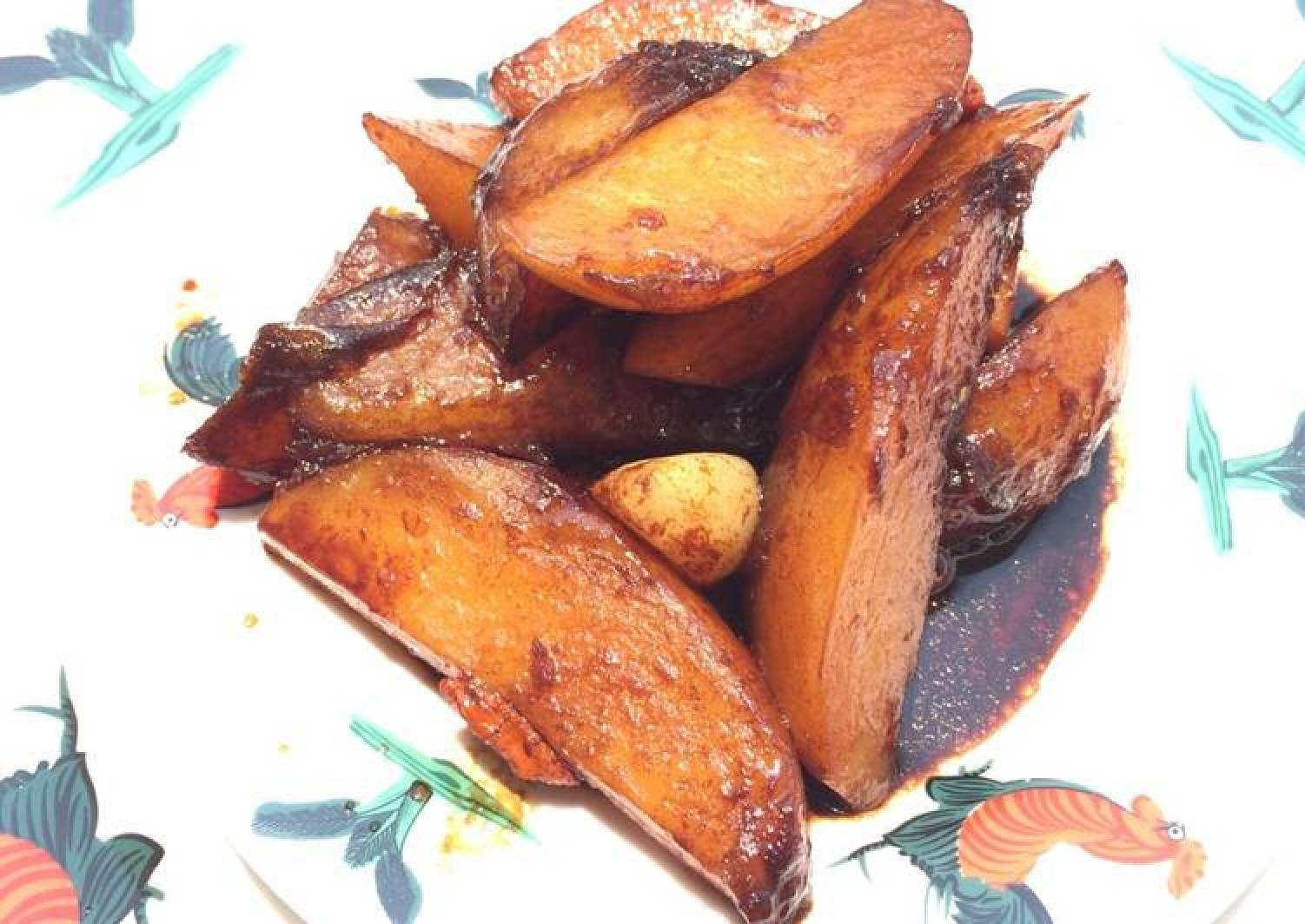 Potato And Wolfberries In Essence Of Chicken Soy Sauce