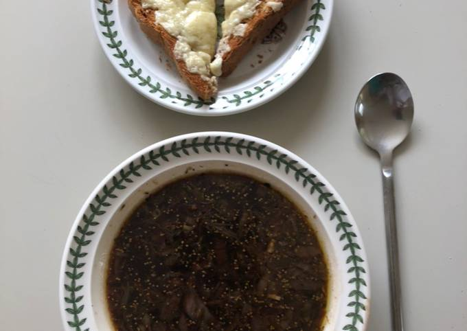 Easiest Way to Make Award-winning Red Onion Soup
