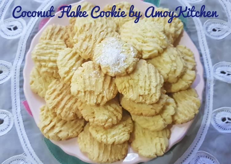 Coconut Flake Cookies