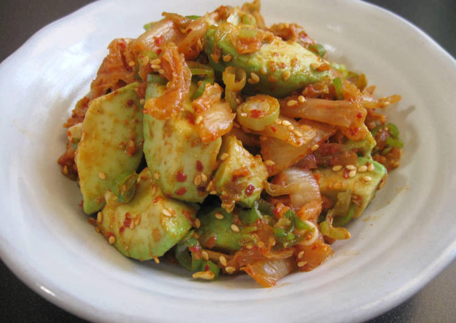 Avocado & Kimchi