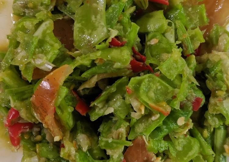 Thai Yardlong bean salad