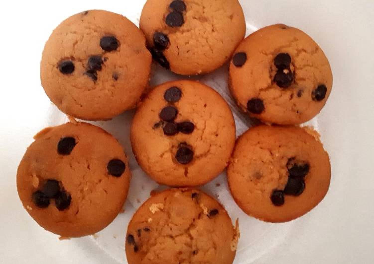 Gluten-Free Chocolate Chips Rice Flour Muffins
