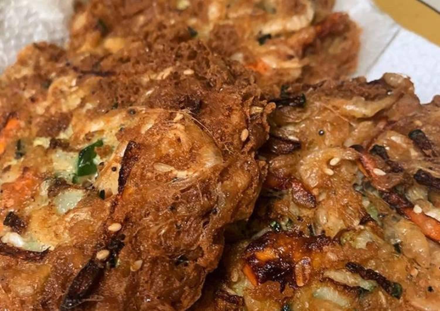 Shrimp and Veggies Pancake / Haemul Pajeon