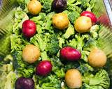 Roasted Broccoli 🥦 with Baby Medley Potatoes 🥔
