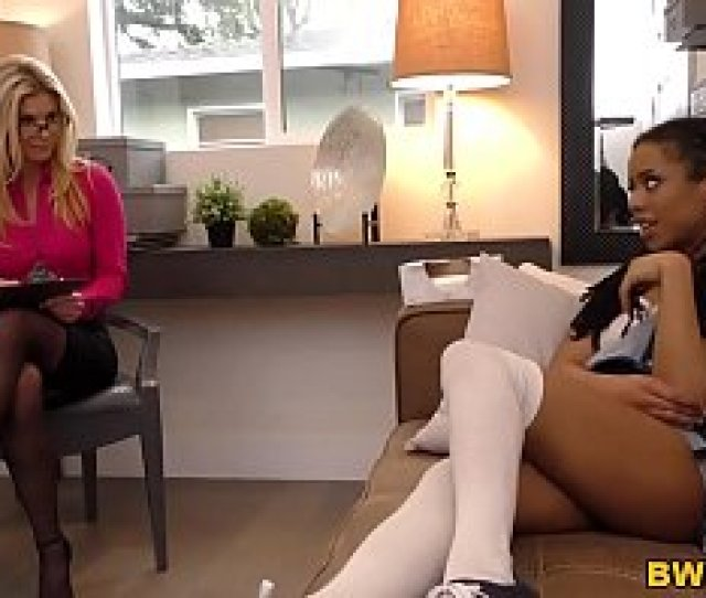Therapist Dr India Summer Is Going To Seduce A Black Woman Half Her Age