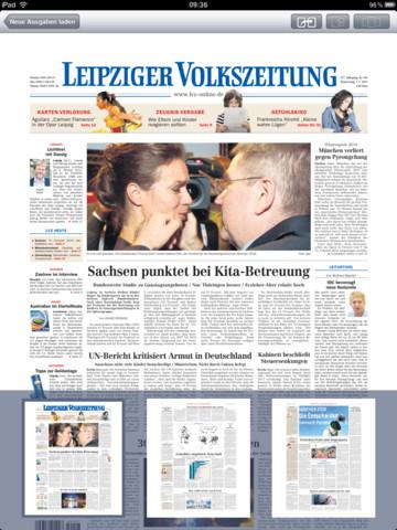 LVZ EPaper News Leipziger Volkszeitung