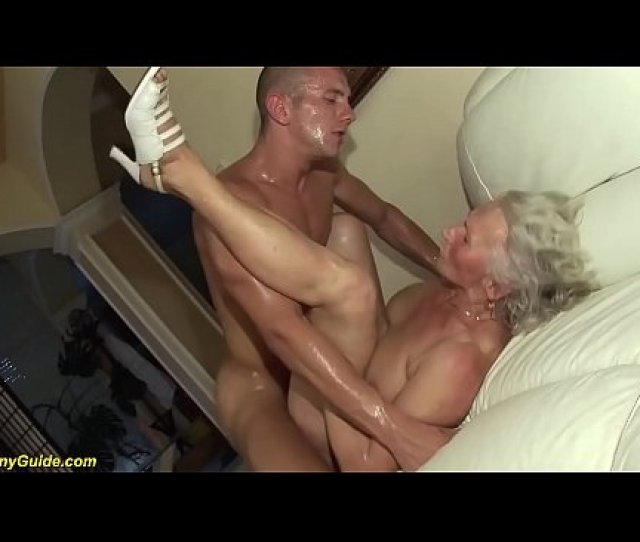 Busty Hairy  Years Old Granny Mom Enjoys Her First Rough Porn