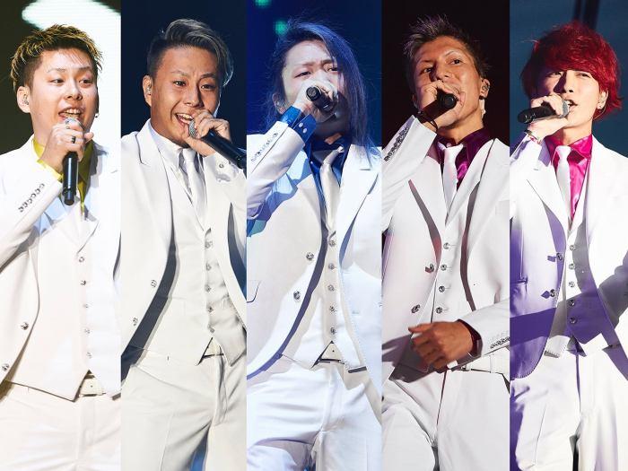 レペゼン地球(左から)MG脇、DJ銀太、DJ社長、DJふぉい、DJまる