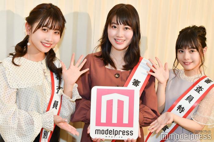 西村未来望、森千瑛香、中野唯(C)モデルプレス