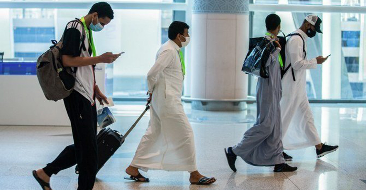 Travel to and from the UAE has been suspended by Saudi Arabia