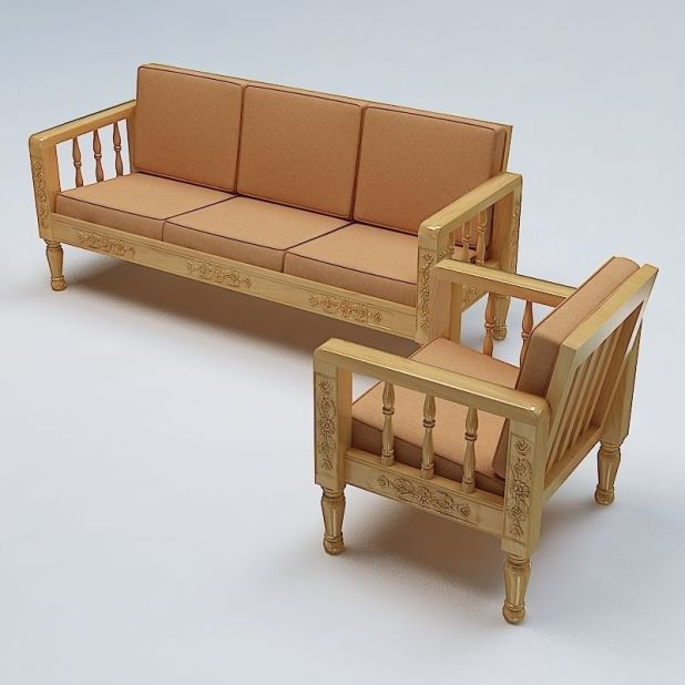 fancy wooden sofa models images design