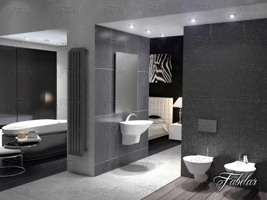 sanitary 3D model Bathroom | CGTrader on Bathroom Models  id=77644