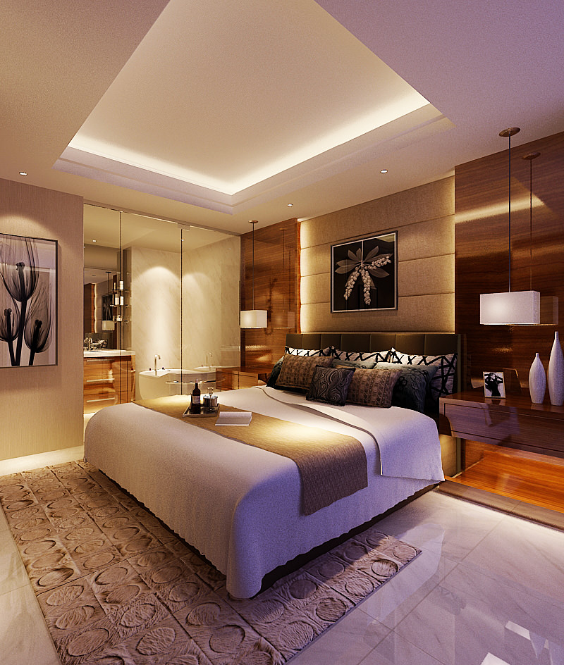 Bedroom 136 3D Model .max - CGTrader.com on New Model Bedroom  id=93939