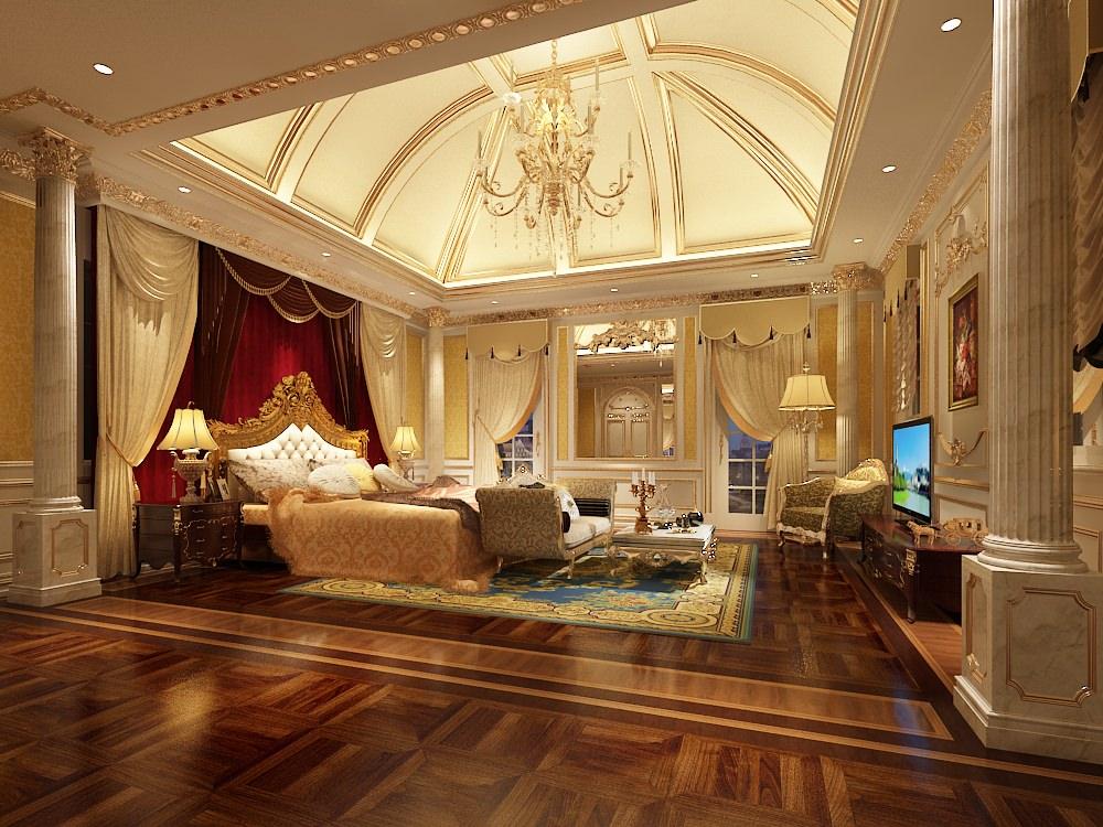 Luxury Bedroom Photoreal 3D Model .max - CGTrader.com on New Model Bedroom Design  id=86601
