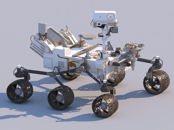 Curiosity Mars Rover 3D | CGTrader